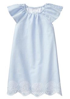 Crazy 8 Toddler Girls' Flutter Sleeve Eyelet Woven Dress