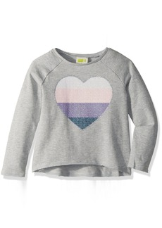 Crazy 8 Girls' Toddler Heart Pullover