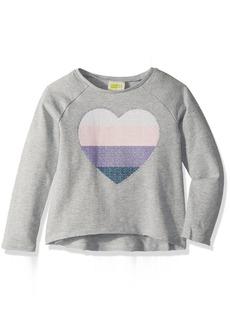 Crazy 8 Girls' Toddler Heart Pullover