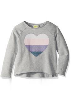 Crazy 8 Toddler Girls' Heart Pullover  12-18 Mo