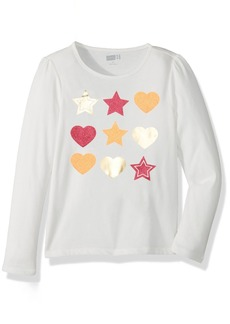 Crazy 8 Toddler Girls' Her Li'l Long-Sleeve Graphic Tee