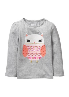 Crazy 8 Girls' Toddler Li'l Long-Sleeve Graphic Tee