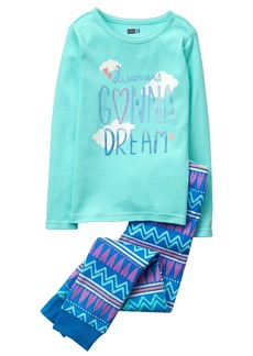 Crazy 8 Toddler Girls' Her Li'l Long Sleeve Pajamas  6-12 Mo