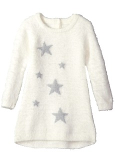 Crazy 8 Girls' Toddler Long Sleeve Fuzzy Sweater Dress  12-18 mo