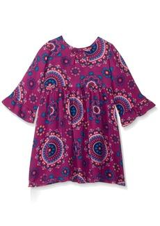 Crazy 8 Toddler Girls' Long Sleeve Printed Boho Dress  T