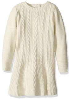 Crazy 8 Toddler Girls' Long Sleeve Sparkle Sweater Dress  T
