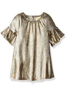 Crazy 8 Toddler Girls' Metallic Crinkle Dress  18-24 Mo