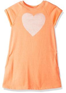 Crazy 8 Toddler Girls' Neon Sequin Heart Dress