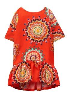 Crazy 8 Toddler Girls' Printed Drop Waist Dress