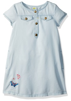 Crazy 8 Toddler Girls' Short Sleeve Chambray Dress