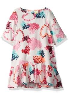 Crazy 8 Toddler Girls' Signature Heart Print Dress  12-18 Mo