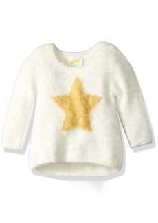 Crazy 8 Toddler Girls' Soft Star Sweater
