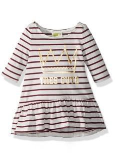 Crazy 8 Toddler Girls' Stripe Tres Cute Dress  18-24 Mo