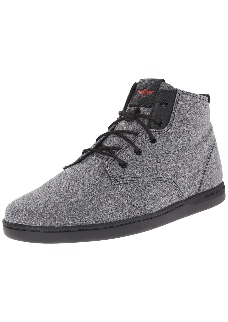 Creative Recreation Men's vito Fashion Sneaker Black Heather  M US