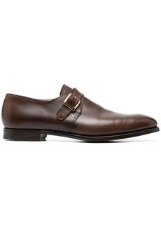Crockett & Jones almond-toe monk shoes