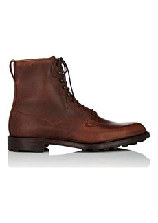Crockett & Jones Men's Arran Leather Lace-Up Boots