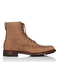 Crockett & Jones Men's Arran Leather Lace-Up Boots