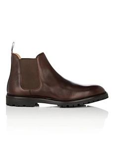 Crockett & Jones Men's Chelsea 11 Grained Leather Boots