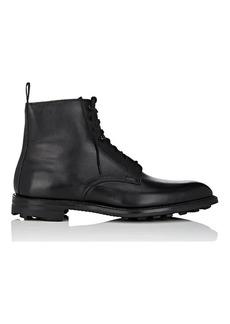 Crockett & Jones Men's Derwent Leather Lace-Up Boots