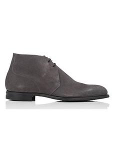 Crockett & Jones Men's Hartland 2 Suede Chukka Boots