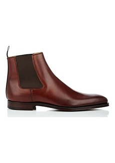 Crockett & Jones Men's Lingfield Burnished Leather Chelsea Boots
