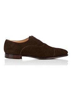 Crockett & Jones Men's Mitcham Suede Balmorals