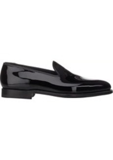 Crockett & Jones Men's Plain-Toe Loafers