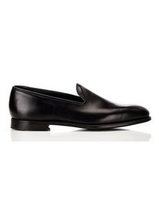 Crockett & Jones Men's Plain-Toe Loafers
