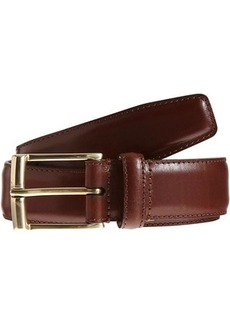 Crockett & Jones Men's Smooth Leather Belt