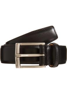 Crockett & Jones Men's Smooth Leather Belt