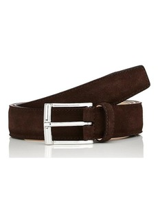 Crockett & Jones Men's Suede Belt