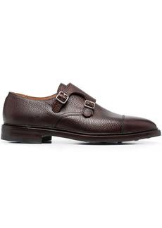 Crockett & Jones Harrogate leather monk shoes