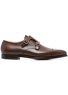 Crockett & Jones Lowndes leather monk shoes