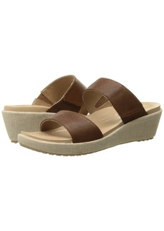 Crocs A-Leigh 2-Strap Mini Wedge