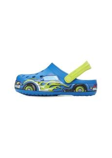 Car Print Rubber Crocs