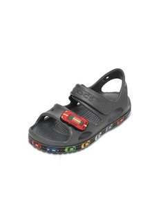 Crocs Cars Embossed Rubber Sandals