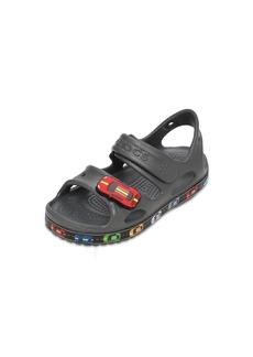 Crocs Cars Embossed Rubber Sandals