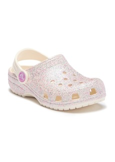 Crocs Classic Glitter Clog (Toddler & Little Kid)