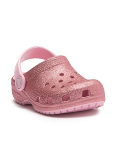 Crocs Classic Glitter Clog (Baby, Toddler & Little Kid)