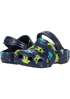 Crocs Classic Monster Print Clog (Toddler)