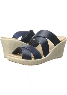 Crocs A-Leigh Crisscross Wedge