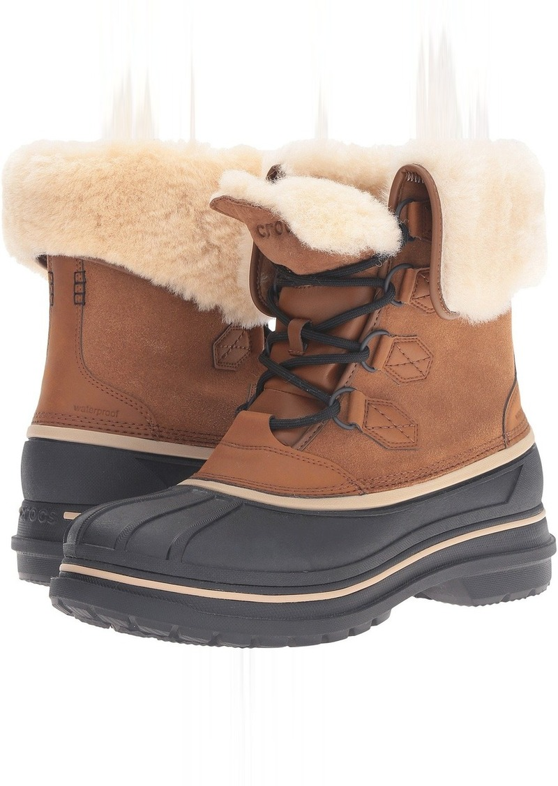 On Sale today! Crocs Crocs AllCast II Luxe Boot 85178f6bc