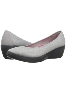 Crocs Busy Day Heathered Ballet Wedge