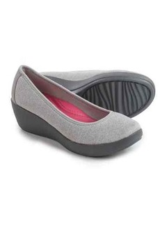 Crocs Busy Day Heathered Ballet Wedge Shoes - Slip-Ons (For Women)