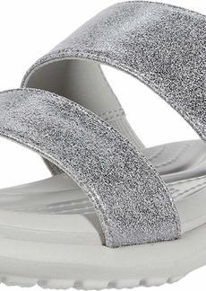 Crocs womens Women's Capri Two-strap Flip Flop | Casual Comfortable Sandals for Women Water Shoe   US