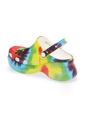 CROCS™ Classic Bae Tie Dye Platform Clog (Women)
