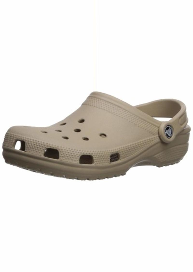 Crocs Classic Clog Comfortable Slip On Casual Water Shoe cobblestone