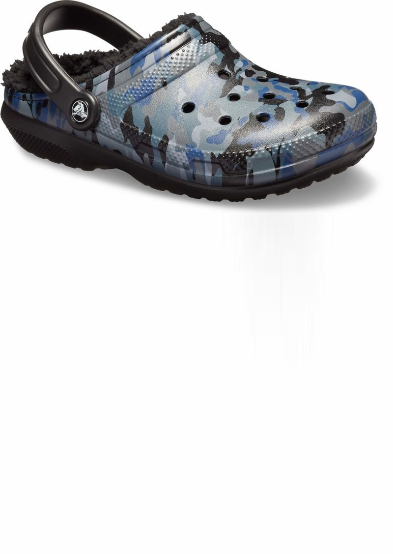 Crocs Classic Lined Camo Graphic Clog Shoe  14 US Women / 12 US Men M US