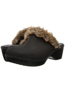 Crocs Cobbler Fuzz Clog
