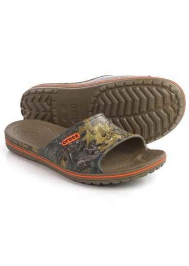 3eb33f7e7cc Crocs Crocs Crocband LoPro Realtree® Xtra® Slide Sandals (For Men ...